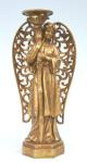 WOHNAMBIENTE Kerzenständer, Kerzenhalter Art.-Nr.: 10138 W Maße: 20 x 40 x 12 cm (BxHxT)