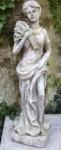 WOHNAMBIENTE Figuren Art.-Nr.: 13522 Allegorische Darstellung des Herbstes, Maße: Sockel 21 x 19 cm, Höhe 81 cm, Gewicht ca. 18 kg.