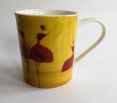 """WOHNAMBIENTE Porzellan, Geschirr Art.-Nr.: O 106 Porzellantasse """" Danseuse"""" von ONA. Maße: 9, 5 cm, d= 8 cm."""