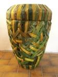 WOHNAMBIENTE Vase, Pflanztopf Art.-Nr.: K 19 Maße: d= 35 cm, Höhe 51 cm, Öffnung d= 23 cm.