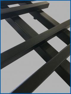 Design Badheizkörper VENTO Schwarz Anthrazit 1200 x 550 mm. - Vorschau 2