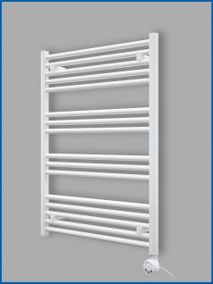 Elektro Handtuchwärmer MORA 1725 x 500 mm. Weiß rein elektrisch