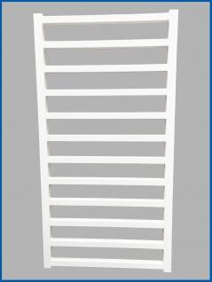 Badheizkörper GLORYA Weiß 1000 x 500 mm. Handtuchwärmer
