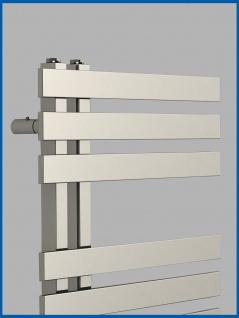 Design Badheizkörper VERONA Chrom 1200 x 600 mm. Handtuchwärmer - Vorschau 2