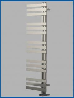 Design Badheizkörper VERONA Hochglanz Chrom 1200 x 500 mm. Handtuchwärmer