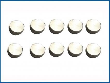 Blindstopfen oder Entlüftungstopfen für Badheizkörper 10'er Pack - Vorschau 2