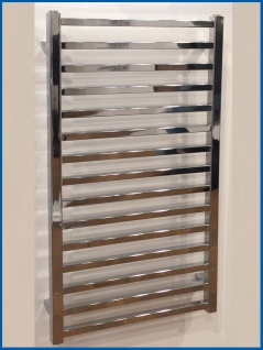 Badheizkörper GLORYA Hochglanz Chrom 1000 x 500 mm. Handtuchwärmer
