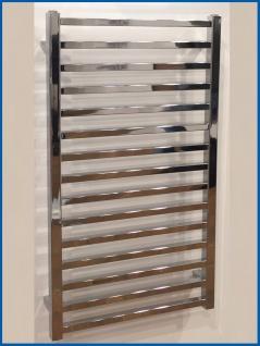 Badheizkörper GLORYA Hochglanz Chrom 1700 x 500 mm. Handtuchwärmer