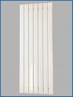 Paneel Heizkörper Badheizkörper ARYA Vertikal Weiß Breite: 528 mm. Höhe: 1600 mm.