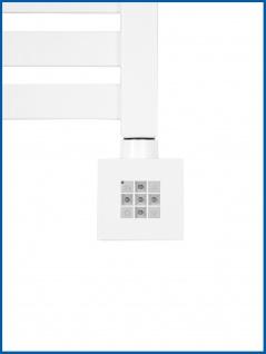 Heizstab , Heizelement mit Steuerung für Badheizkörper KTX 2 Weiß