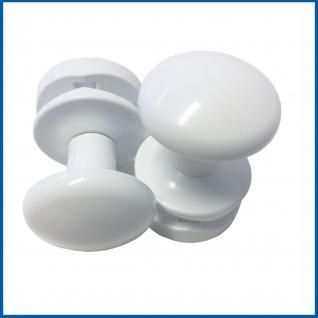 PRIME Handtuchhalter Handtuchhaken für Badheizkörper Weiß 2 'er Packung
