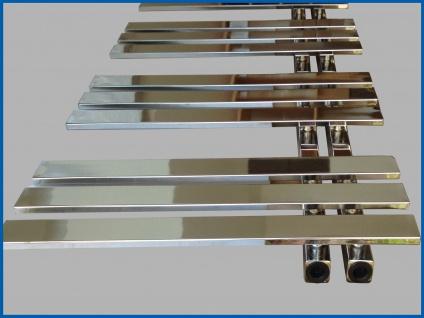 Design Badheizkörper VERONA Chrom 1200 x 600 mm. Handtuchwärmer - Vorschau 5