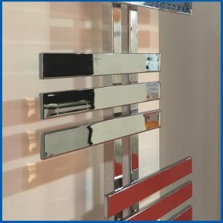 Design Badheizkörper ELFIE Hochglanz Chrom 1600 x 600 mm. Handtuchwärmer - Vorschau 4