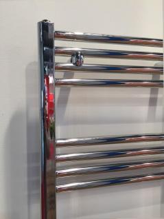 Badheizkörper LIDYA Chrom 1000 x 500 mm. Gerade Handtuchtrockner Handtuchwärmer - Vorschau 2