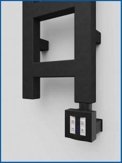 Heizstab, Heizelement mit Steuerung für Badheizkörper KTX 4 Schwarz Fernbedienung