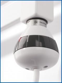 Thermostat Heizpatrone Heizstab REG 3, Weiß, 400 Watt für Badheizkörper