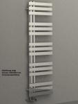 Design Badheizkörper VERONA Chrom 1400 x 500 mm. Handtuchwärmer