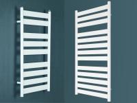 Badheizkörper VERSUS Weiß 1300 x 500 / 950 x 500 mm. inkl. Ventile