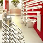 Designbadheizkörper BONITA 1400 x 600 mm. mit Ventile