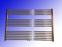 Badheizkörper LIDYA 600 x 1000 mm. Chrom Gerade mit Mittelanschluss Sondermaß