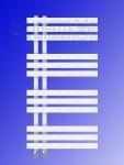 Design Badheizkörper VERONA Weiß 1000 x 500 mm. Handtuchwärmer