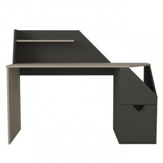 Schreibtisch Gusto Grau Anthrazit