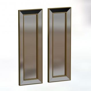 Spiegel Becomin 2er 30x90cm Gold