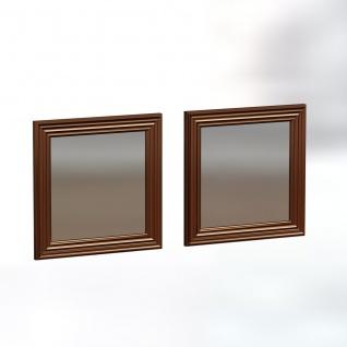 Spiegel Bale 2er 40x40cm Bronze