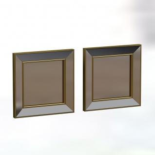 Spiegel Martin 2er 40x40cm Gold