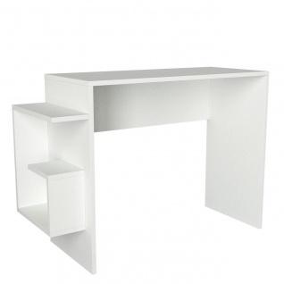 Schreibtisch Alaska Weiß