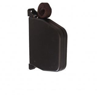 Aufschraubwickler Aufputz Gurtwickler Mini für Rolladen, 5 m Gurtband / Rolladengurt, braun