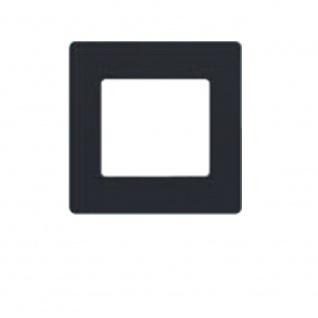 Simu Rahmen 80x80mm für alle Hz Funk Wandsender Farbe Anthrazit | Design Wechselrahmen