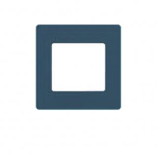 Simu Rahmen 80x80mm für alle Hz Funk Wandsender Farbe Mineralblau | Design Wechselrahmen