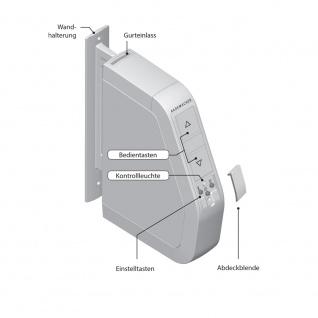 Rademacher elektrischer Funk Aufputz Gurtwickler Motor Schwenkwickler Standard DuoFern, weiß, ohne Display, 30 kg Zugleistung, 23mm Rolladengurt, 2510-UW - Vorschau 3