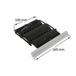 Rollladen Clip Wellenverbinder für 50mm & 60mm 8-kant Stahlwellen, 2-gliedrig, feste Wellenverbinder, Hochschiebesicherung