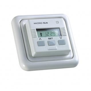 Simu Micro Sun Rolladen Zeitschaltuhr, weiß