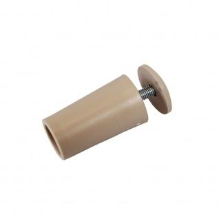 10 x Anschlagstopper / Anschlagpuffer 40mm, beige