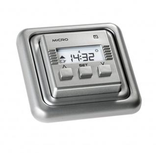 Simu Micro Rolladen Zeitschaltuhr, silber