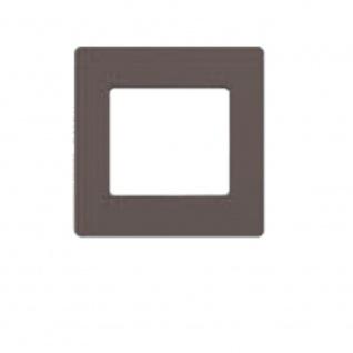 Simu Rahmen 80x80mm für alle Hz Funk Wandsender Farbe Dunkelgrau | Design Wechselrahmen