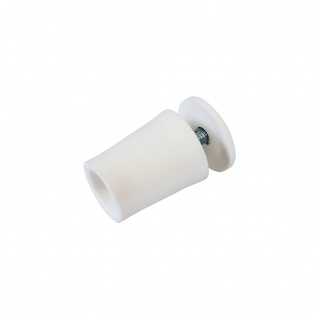 20 x Anschlagstopper / Anschlagpuffer 28mm, weiß