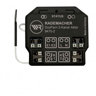 Rademacher DuoFern Universal Aktor 9470-2 2 Kanal Unterputz Funk Empfänger