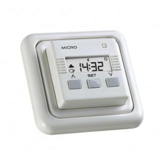 Simu Micro Rolladen Zeitschaltuhr, weiß