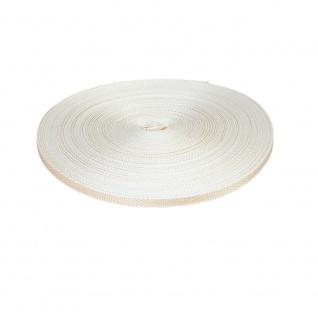 Gurtband Rolladen Gurt Mini 14 mm, beige, 50m Rolle, Rolladenband, Rolladenseil