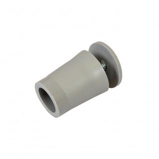 20 x Anschlagstopper / Anschlagpuffer 28mm, grau