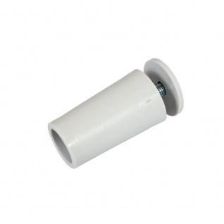10 x Anschlagstopper / Anschlagpuffer 40mm, grau