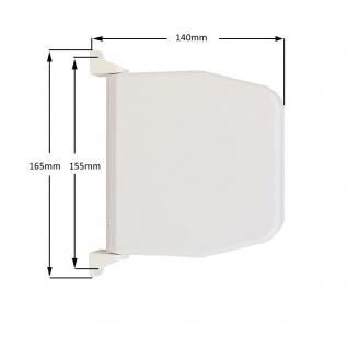10 x Selve Aufschraubwickler Mini Aufputz Gurtwickler aufklappbar Scharniersystem Rolladen weiß, ohne Rolladengurtband