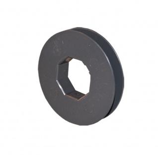 Gurtscheibe Ø 100 mm für SW 40 8-kant Stahlwelle für Rolladen