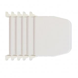 5 x Selve Aufschraubwickler Mini Aufputz Gurtwickler aufklappbar Scharniersystem Rolladen weiß, ohne Rolladengurtband