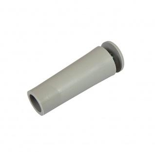 20 x Anschlagstopper / Anschlagpuffer 60mm, grau