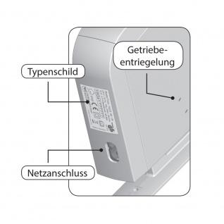 Rademacher elektrischer Funk Aufputz Gurtwickler Motor Schwenkwickler Standard DuoFern, weiß, ohne Display, 30 kg Zugleistung, 23mm Rolladengurt, 2510-UW - Vorschau 5